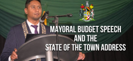 Mayoral Budget Speech and the State of the Town Address