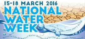 NATIONAL WATER WEEK 2016