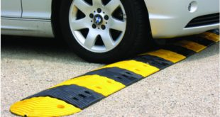 NOTICE : Civic Centre speed bumps to be rectified.