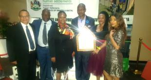 Newcastle Municipality awarded Best Level 2 Accredited Municipality