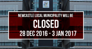 NOTICE : Municipality Offices Closing Dates.