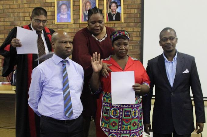 New councillor sworn in