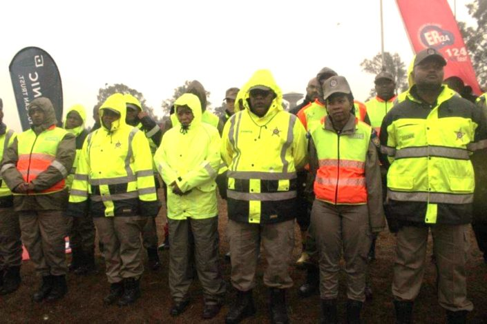 Traffic officers ready for the road safety campaign